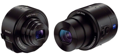 Sony Cyber-shot DSC-QX10 and DSC-QX100 lens cameras