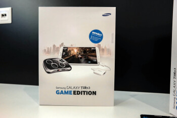 The Samsung Galaxy Tab 3 Game Edition