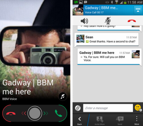 Make calls to anywhere with BBM Voice