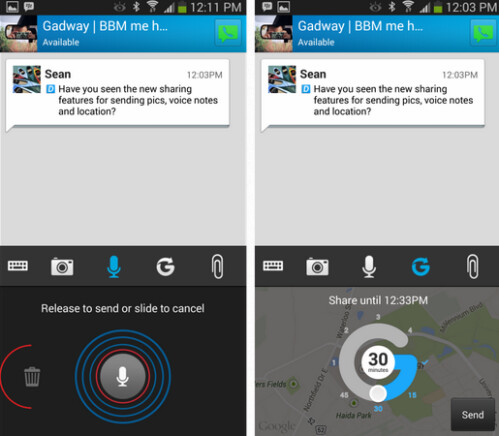BBM for iOS and BBM for Android to get updates
