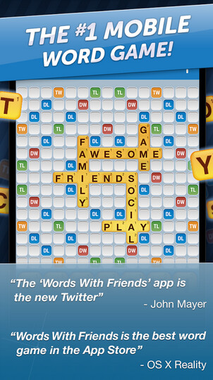 The Android version of Words With Friends has been updated