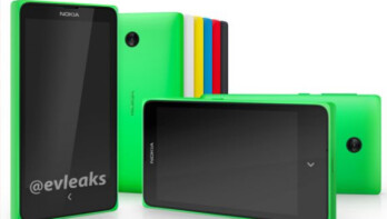 Leaked render of the Android powered Nokia Normandy
