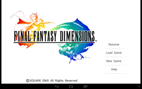 Final Fantasy Dimensions – $15.99 -> $7.99