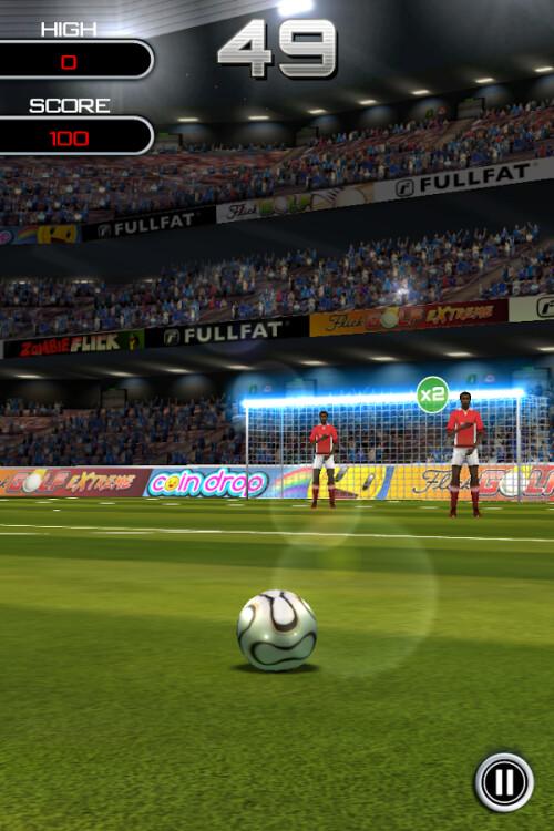 Flick Soccer! – $2.31 -> $0.99