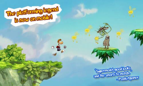 Rayman Jungle Run - $1.99 -> $0.99