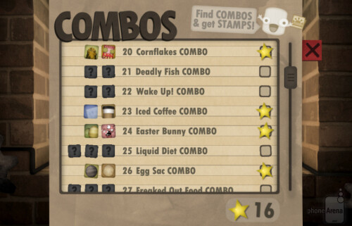 Plenty of combos to discover