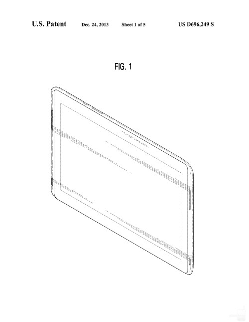 Possibly upcoming Samsung tablet #1
