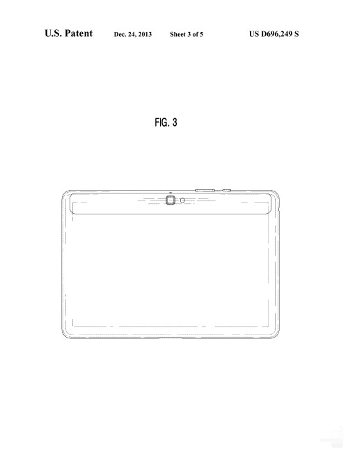 Possibly upcoming Samsung tablet #1 with quad speakers