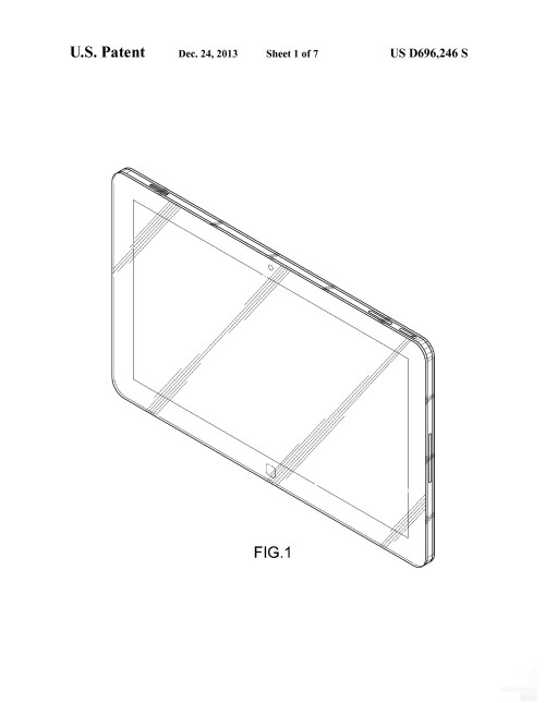 Possibly upcoming Samsung tablet #3