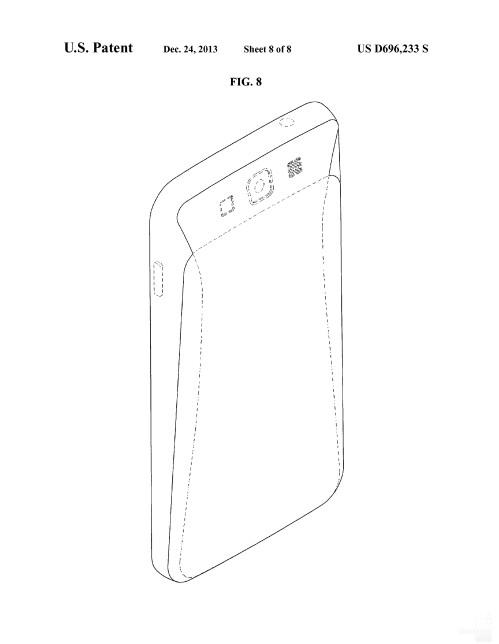 Possible Samsung smartphone design #1