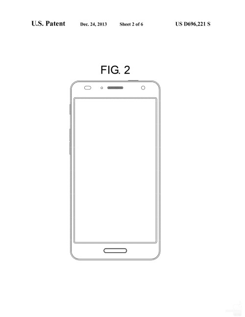 Possible Samsung smartphone design #2