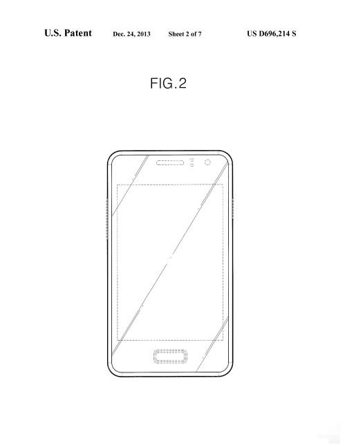 Possible Samsung smartphone design #4