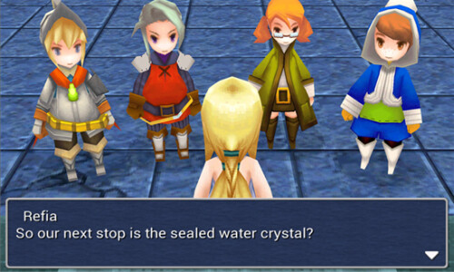 Final Fantasy III for Windows Phone