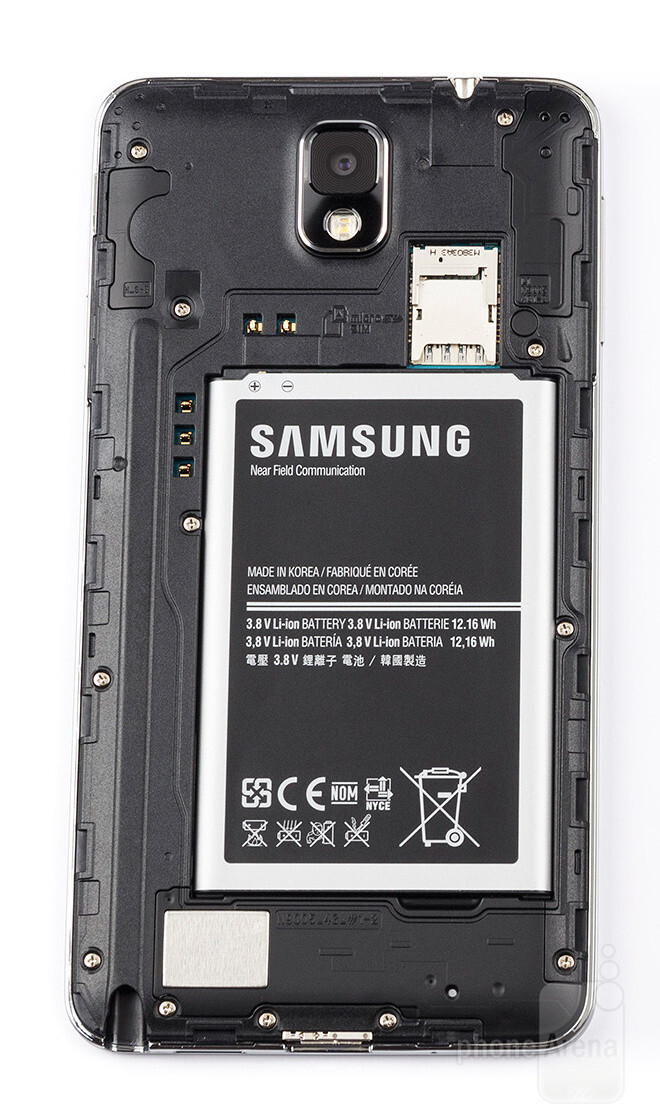 samsung galaxy note 3 battery life test a monster in faux leather clothes. Black Bedroom Furniture Sets. Home Design Ideas