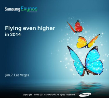 The Samsung Exynos will apparently be the subject of an announcement at CES 2014