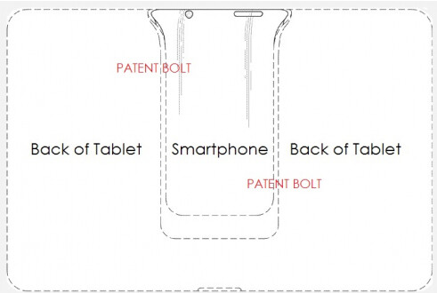 Samsung receives patent for Padfone-like tablet dock