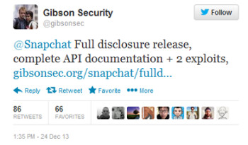 Gibson's Christmas Eve tweet revealed the exploits