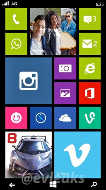 Nokia Lumia 635 Moneypenny screenshot reveals 4G connectivity