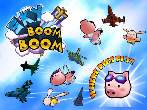Sky Boom Boom for Android & iOS screenshots