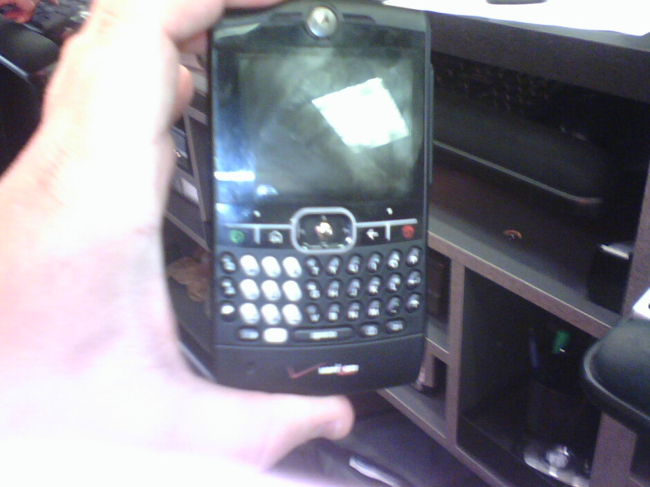 Verizon gets Black Motorola Q, AMPd gets one, too