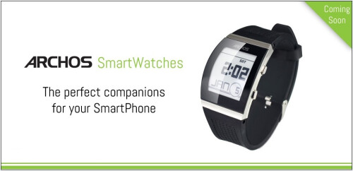 "Archos will bring cheap smartwatches (for Android, iOS) and other ""connected objects"" to CES 2014"