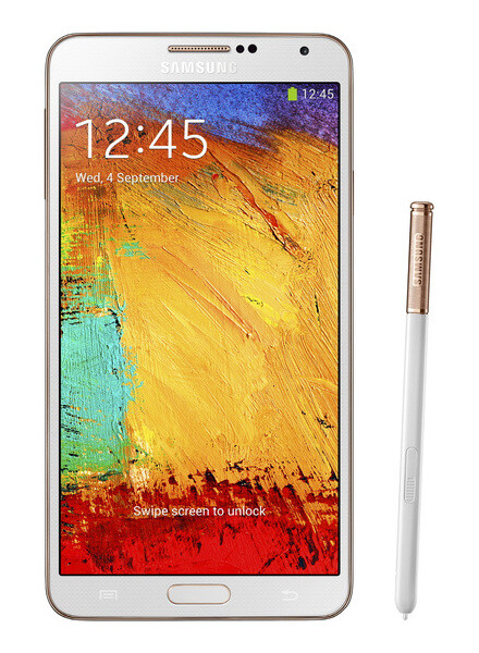 Samsung Galaxy Note 3 Rose Gold black/white editions