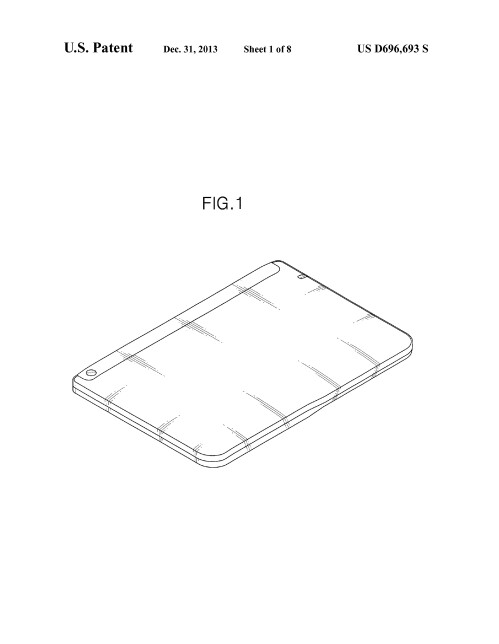 Samsung wins patent for a foldable tablet