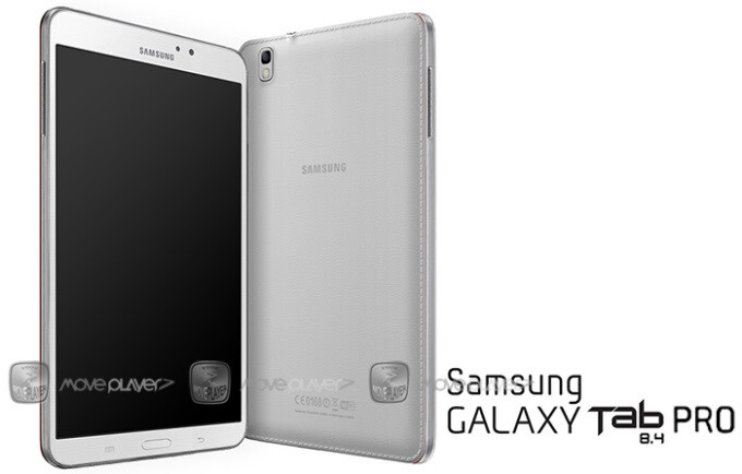 Galaxy Tab Pro 8.4 design concept brings the tablet's FCC drawings to life