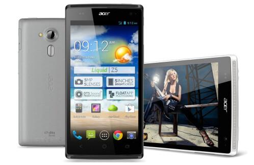 Acer Liquid Z5 official images