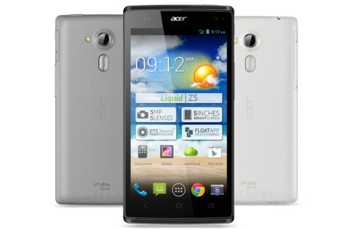 Acer Liquid Z5 official images