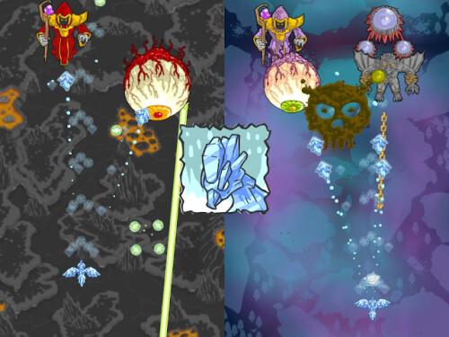 Phoenix Force beta for WP8 screenshots
