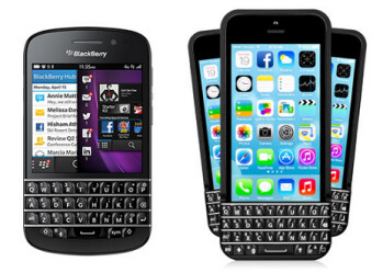 BlackBerry is suing Typo (R) for stealing the design from its QWERTY keyboards
