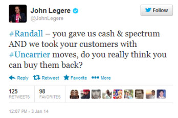 John Legere shreds AT&T's plan to grab T-Mobile customers