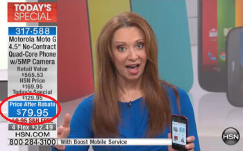 HSN has a great deal on the Motorola Moto G