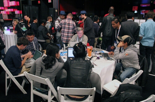 Images from AT&T's Developer Hackathon already taking place in Las Vegas