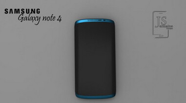 Concept of Samsung Galaxy Note 4