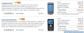 Cingular launches couple of 3G Windows smartphones