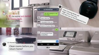 LG HomeChat – you text, the appliances listen