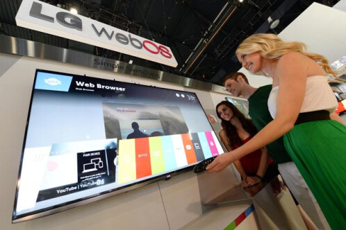 LG Smart webOS TV leaked photos