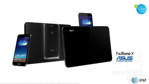 The new Asus PadFone X