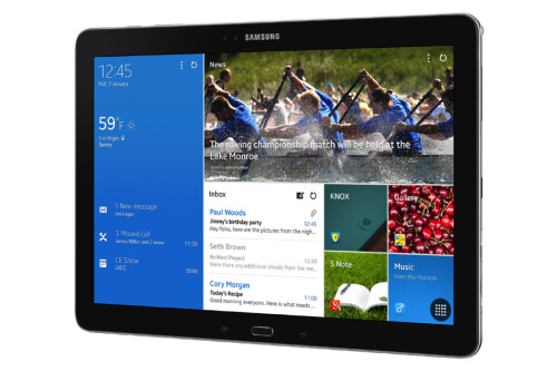 Samsung Galaxy Note PRO 12.2 enters the S Pen arena with a new Magazine UX interface