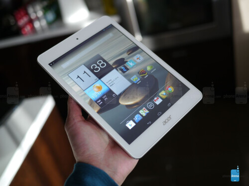 Acer Iconia A1 hands-on: aluminum on the cheap