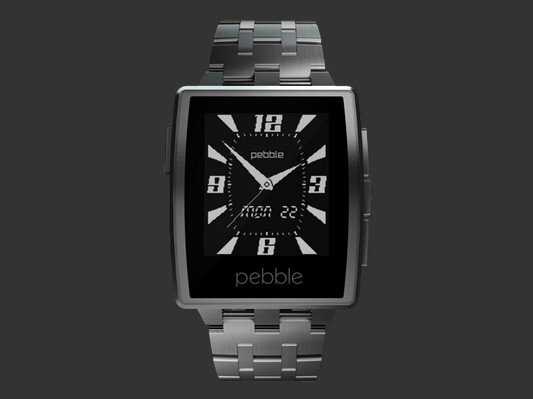 Brushed Stainless Steel - Pebble Steel announced: a sylish smartwatch for $249
