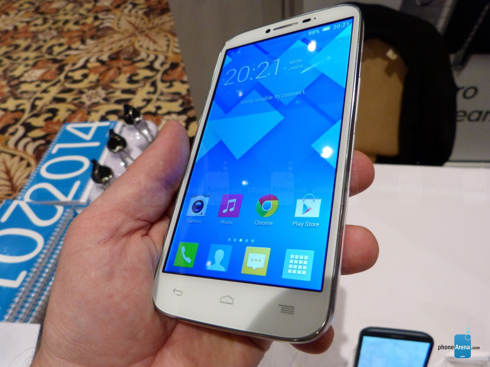 Alcatel One Touch Pop C9 Hands On
