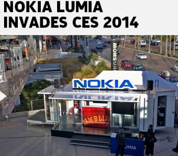 "Nokia says it's ""invading"" CES 2014 - but not exactly with new Lumias"