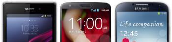 Sony Xperia Z1S vs LG G2 vs Samsung Galaxy S4: specs comparison