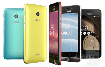Asus ZenFone 5 vs Samsung Galaxy S4 vs LG G2: specs comparison