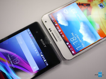 Sony Xperia Z1S vs Samsung Galaxy Note 3: first look