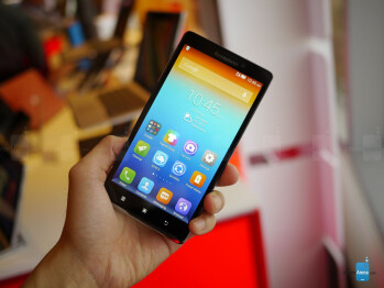 Lenovo Vibe Z hands-on