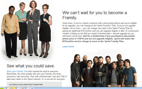 Sprint announces new Framily plan
